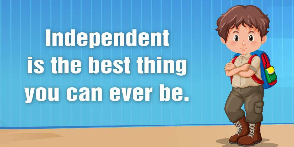 Image result for being independent